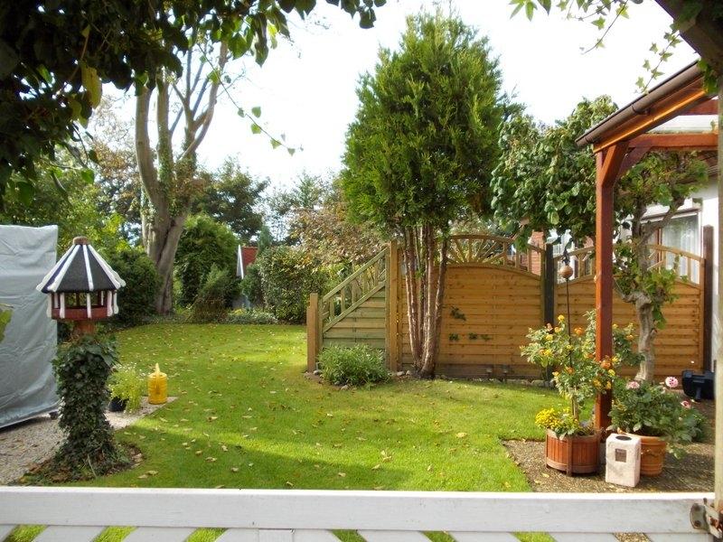 Ausblick zum erweiterten Garten